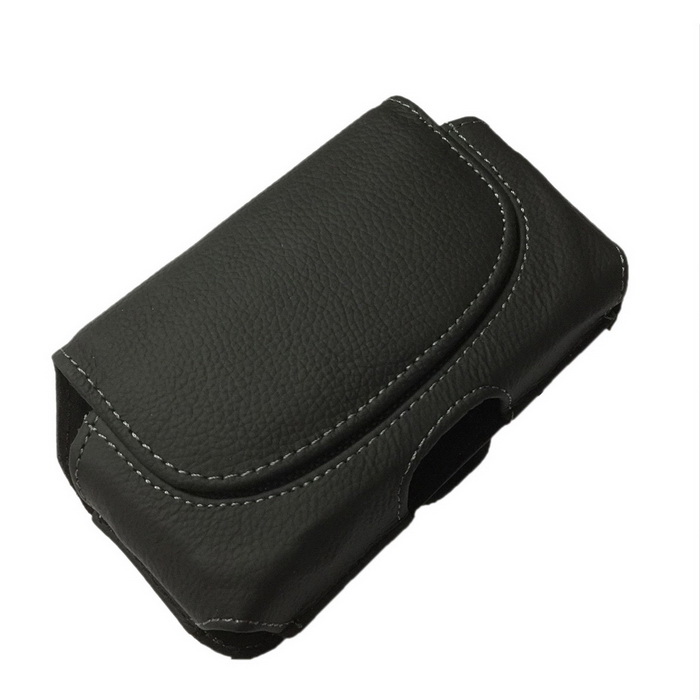 Protective Genuine Leather Case w/ Belt Clip for Samsung Galaxy S3 i9300 - Black