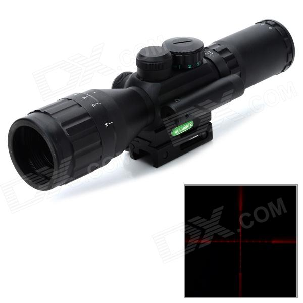 M8-3.5-10X40AOE en alliage d'aluminium 11 ~ 20mm ferroviaire 5mW Rouge Laser Sight