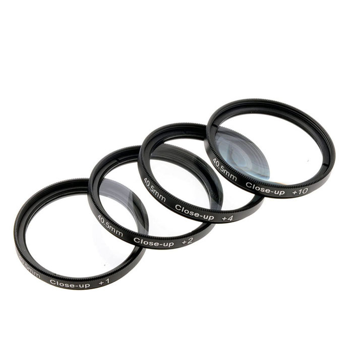 EOSCN 40.5mm Close-Up Filters (1X, 2X, 4X, 10X)