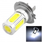 H7 7.5W 350lm Cold White Light 15 * LED COB Car mlhové světlo (10 ~ 13.6V)
