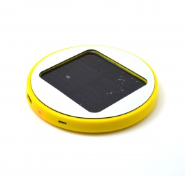 Roundness-Solar-Powered-Rechargeable-1800mAh-Li-ion-Power-Bank-for-Cell-Phone-Iphone-Yellow