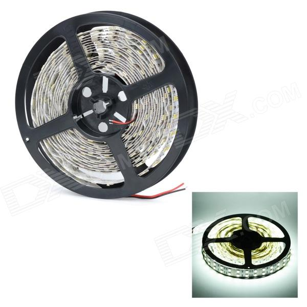 144W 6200lm 600-LED 5050 SMD Cold White Light Strip5050 SMD Strips<br>MaterialFPCForm  ColorWhiteQuantity1PowerOthersChip BrandEpistar,OthersEmitter Type5050 SMD LEDTotal Emitters600Color BINWhiteColor Temperature6500Power AdapterOthersCertificationCEOther FeaturesSuperPacking List1 x Light strip<br>