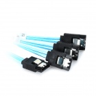 36pin Mini SAS to 4-SATA Data Cable for SATA HDD - Black + Blue