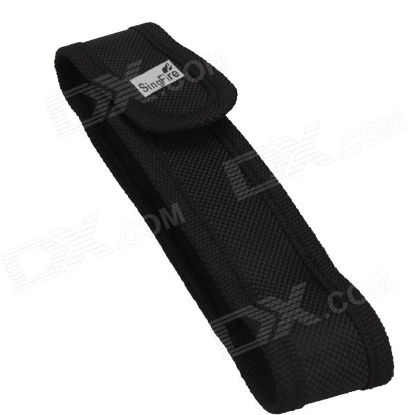 Buy SingFire SF0012 Nylon Holder Belt Pouch Case for Cree LED Flashlight Torch - Black with Litecoins with Free Shipping on Gipsybee.com