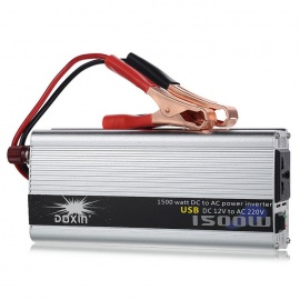 1500W-DC-12V-to-AC-220V-Portable-Car-Power-Inverter-Charger-Converter-Transformer-w-USB-Port-Silver