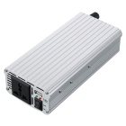1500W DC 12V to AC 220V  Portable Car Power Inverter Charger Converter Transformer w/ USB Port - Silver