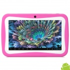 BENEVE M755 7″ LCD Android 4.1.1 Tablet PC w/ 512MB RAM / 8GB ROM for Kids – Deep Pink + White