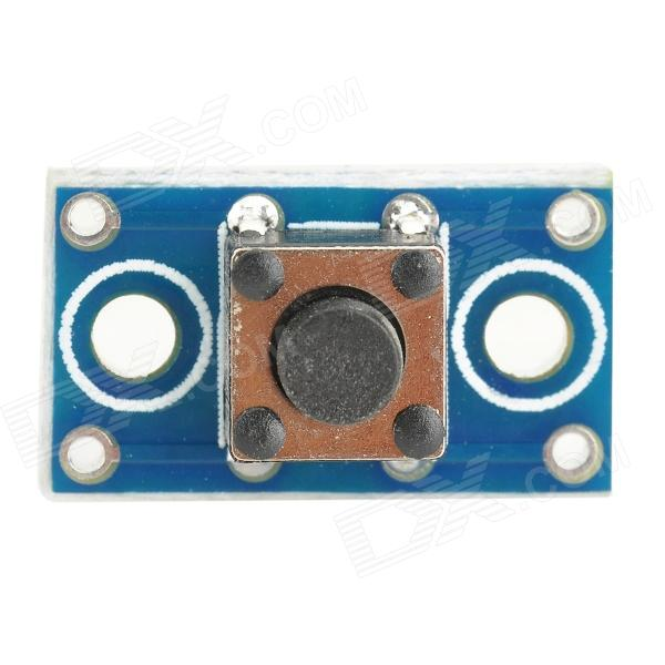 YS616 PCB + Components Light-Touch Button Switch Module - Blue + Black