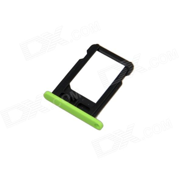 sim card for iphone 5c replacement sim card tray for green iphone 5c green 18012