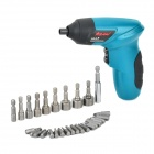 ASAKI-AQ48-Home-Rechargeable-Electric-Screwdriver-w-30-Adapters-Blue-2b-Black