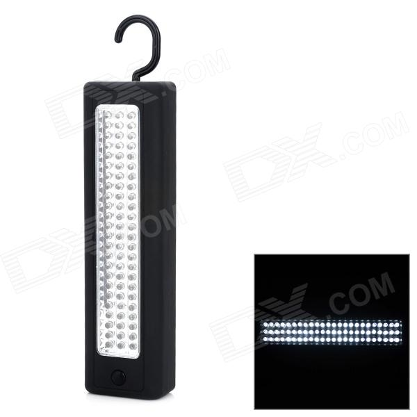 25W 900lm 6000K 72-LED Cold White Car Inspection Light w/ Hook