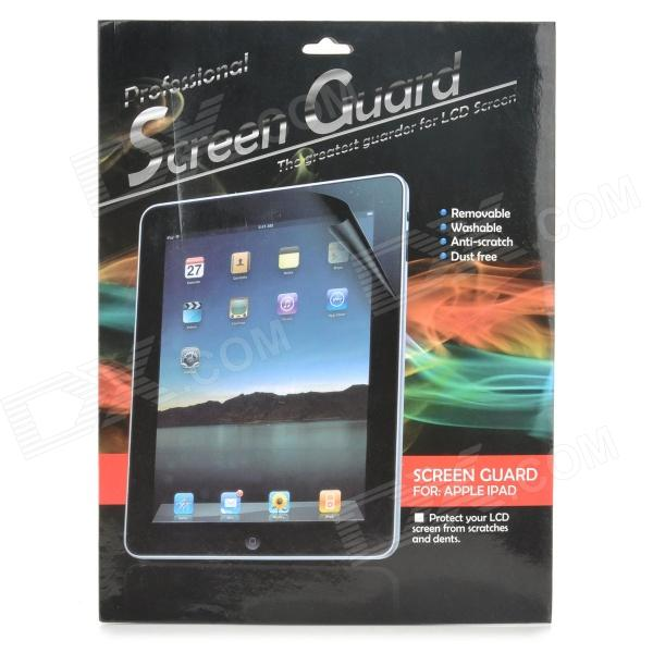 Klar Schutz PET Screen Protector w / Reinigungstuch für Ipad 5 - Transparent