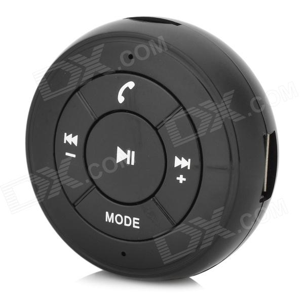 Buy Car Bluetooth Audio Receiver w/ TF / MP3 / FM / USB / AUX - Black with Litecoins with Free Shipping on Gipsybee.com