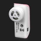 Universal Mini Bluetooth V2.1 + EDR Headset w/ Microphone for Cellphones - Pink + White