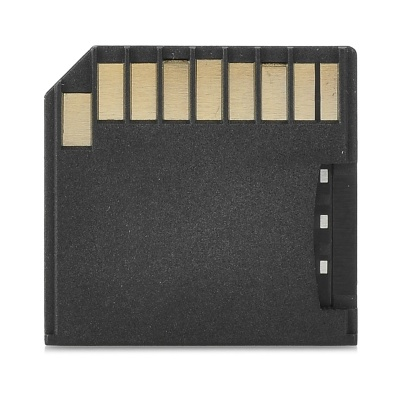 TF Card to SD Card Adapter for MacBook Air - Black