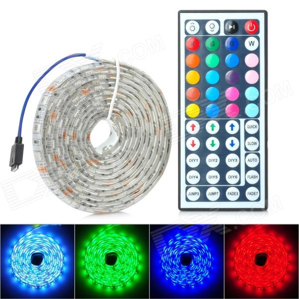 Buy Waterproof 24W 400lm 120-SMD 5050 LED RGB Car Decoration Light Strip (12V / 2m) with Litecoins with Free Shipping on Gipsybee.com