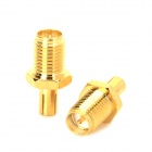 RP-SMA to TS9 Adapters for Router - Golden (2PCS)