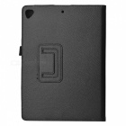 Protective PU Leather Case w/ Stand for Ipad AIR - Black