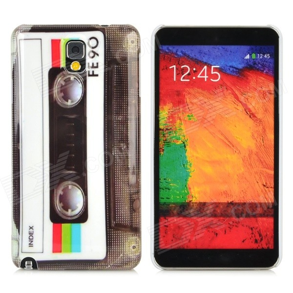 0f1da876e6c Retro Cassette Tape Style Plastic Back Case for Samsung Galaxy Note ...