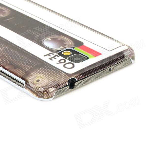 42c7ec4de2b ... Retro Cassette Tape Style Plastic Back Case for Samsung Galaxy Note 3  N9000 - Black + ...