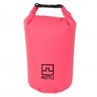 Aotu-801-Outdoor-Drifting-Waterproof-500D-PVC-Clothes-Storage-Bag-Pink-(10L)