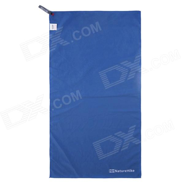 Dx coupon: Naturehike Outdoor Travel Quick-drying Polyester Towel - Blue