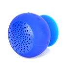 Soporte de ventosa Mini Bluetooth v2.1 Altavoces - Deep Blue