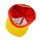 DG0302 Chinese Flag modello Hip Hop Hat - Red