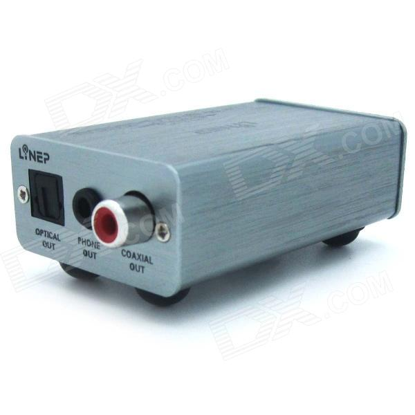 M303 Computer High Quality Digital USB Coaxial Optical Decoder - Grey