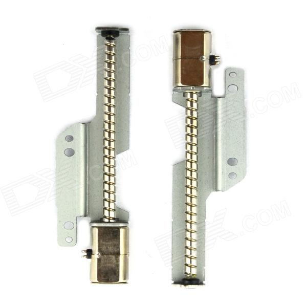 Jtron Two-Phase Four-Wire Micro Stepper Motor - Silver (2 PCS)