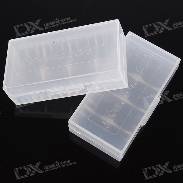 2*18650/4*CR123A Battery Protective Case (2PCS)