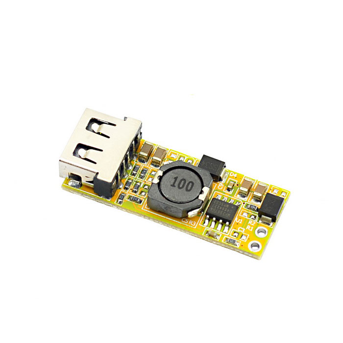 Jtron DC-DC 12V to 5V 3A USB Power Buck Module - OrangeDIY Parts &amp; Components<br>BrandJtronQuantity1 DX.PCM.Model.AttributeModel.UnitForm  ColorOthersMaterialGlass fiber  + ironEnglish Manual / SpecYesOther FeaturesInput voltage: 8~22V;<br>Output Voltage: 5V;<br>Output Current: 3A max.;<br>Output Power: 15W<br>Working temperature: -40C~80CCertificationNOPacking List1 x Module<br>