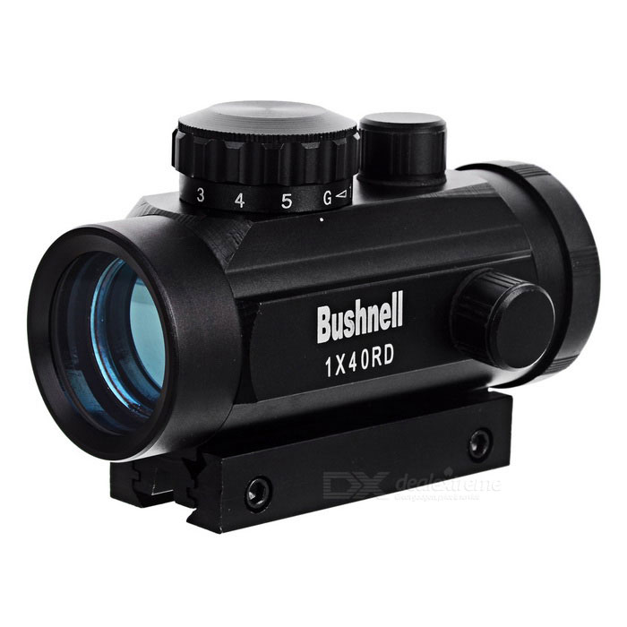 Tactical 1x40 R&G Dot Sight Scope w/ 10mm~20mm Weaver Mount - Black