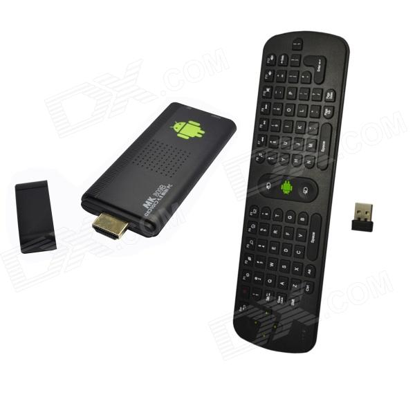 Dgoo MK809BIII + RC11 Air Mouse neliytiminen Android 4.2.2 Google TV Player w / 2GB RAM / 8GB ROM EU