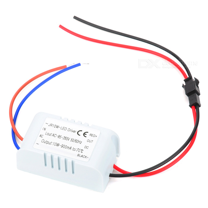 10W 900mA LED Driver - White (AC 85~265V / 50/60Hz)
