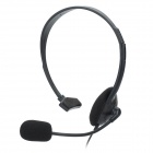 Stylish Single Headphone w/ Microphone for PS4 - Black