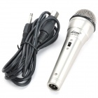 6,35 lm-601 Wired Microphone à bobine mobile - Argent