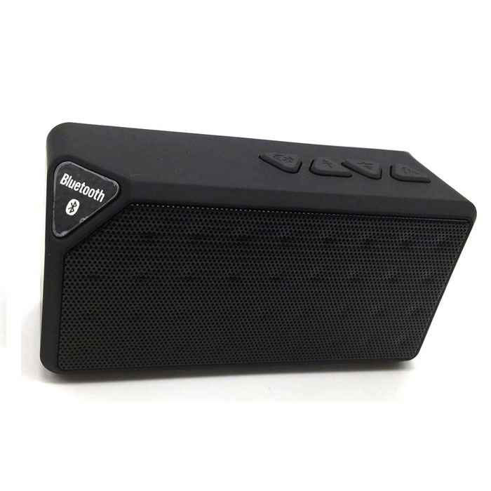 X3 Mini Bluetooth V3.0 Speaker - Black
