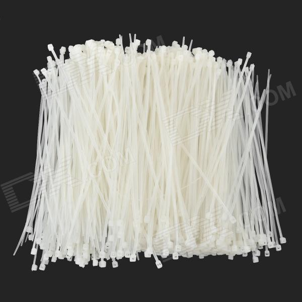 14.5cm Nylon Zip Tie Set - Weiß (1000 PCS)