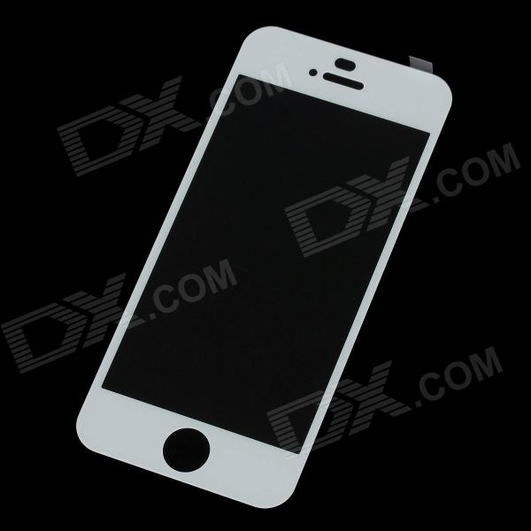 iphone 5c white screen mocoll premium tempered glass screen protector for iphone 14718