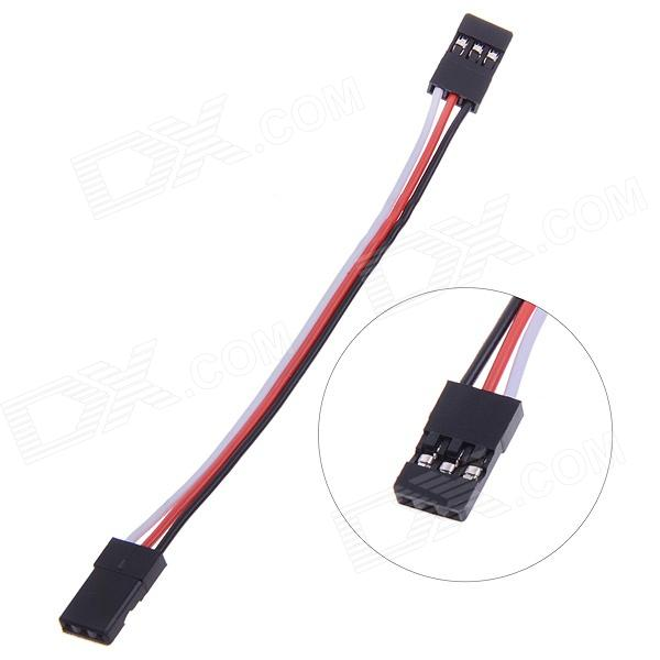 1-Pin / 3-Pin Female to Female Dupont Line Connecting Cable for GPS / MWC / KK - White + Black + Red