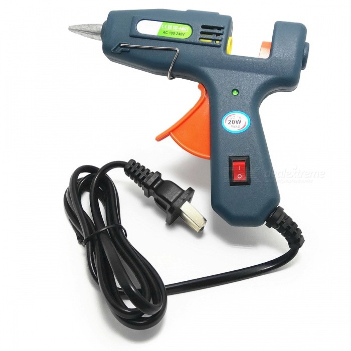 SD-A601 20W Hot Melt Glue Gun for 7mm Hot Melt Stick (100~240V)