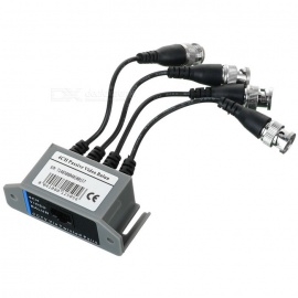 4-CH-CCTV-via-Cat-5-Twisted-Pair-Passive-Video-Balun-Transceiver