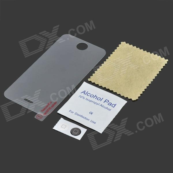 Protective Clear Tempered Glass Film for Iphone 4 / 4S - Transparent