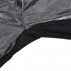 MONTON 1019 Cycling Waterproof / Windproof Polyester Coat - Black (XXL)