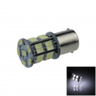 1156 / BA15S / P21W 1.8W 160lm 26 x SMD 5630 LED Cold White Auto Steering valo / Signal Lamp - (12V)