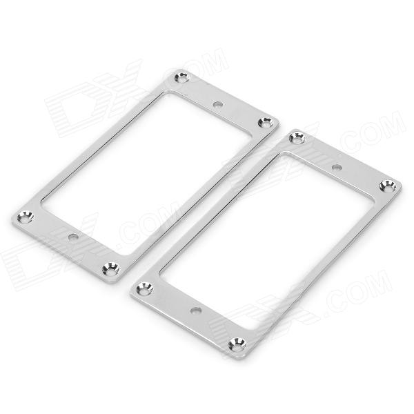 Buy Copper Electric Guitar Pickup Frames - Silver (Pair) with Litecoins with Free Shipping on Gipsybee.com