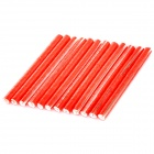 Cycling Bike Wheel Reflecterende Rods - Rood (12 PCS)