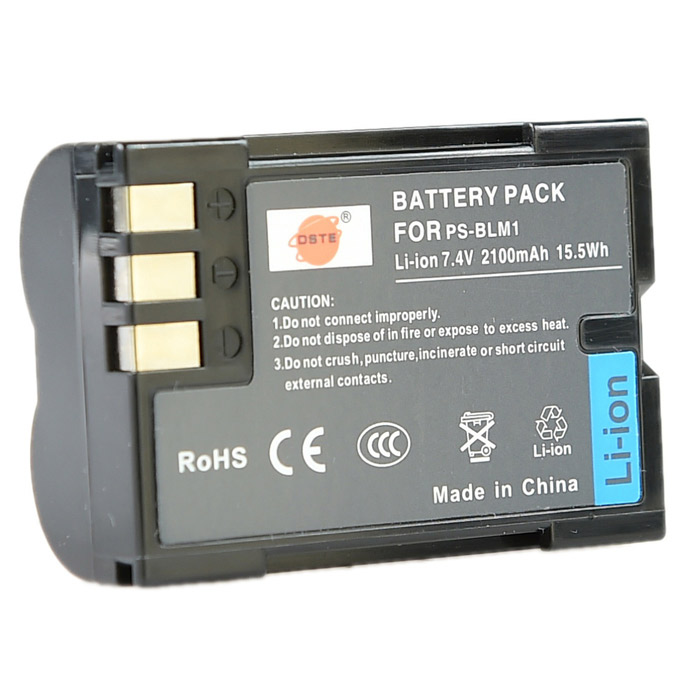 DSTE PS-BLM1 BLM-1 BLM-01 Full-Decoded Battery for Olympus C-5060 C7070 C8080 E1 E300 E30 E500