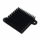 Jtron High Performance alluminio dissipatore radiatore / Chip CPU radiatore - nero (35 x 35 x 10 mm)